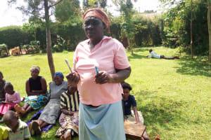 The Water Project: Musutsu Community, Mwashi Spring -  Beatrice Musimbi