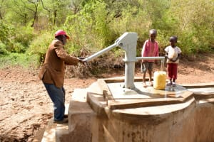 The Water Project: Mbuuni Community E -  Finished Well