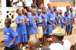 The Water Project: Mabendo Community -  Child Health Club Members