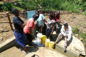 The Water Project: Luvambo Community, Timona Spring -