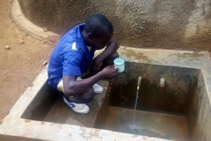 The Water Project: Emmabwi Primary School -  Fetching Water