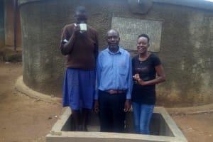 The Water Project: Emmabwi Primary School -  Joyce Nyagoa And Victor Kutai