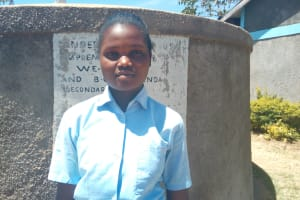 The Water Project: St. Marygoret Girls Secondary School -  Mary Salano
