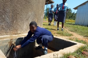 The Water Project: St. Marygoret Girls Secondary School -  Reliable Water