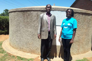 The Water Project: Virembe Primary School -  Silvester Madegwa