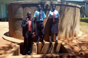 The Water Project: Digula Secondary School -  Thumbs Up For Reliable Water