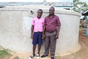 The Water Project: Musudzu Primary School -  Caleb Musonye And David Sakwa Anyolo