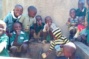 The Water Project: Kalenda Primary School -  Smiles For Reliable Water