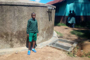 The Water Project: Eshisuru Primary School -  Derrick Ngala