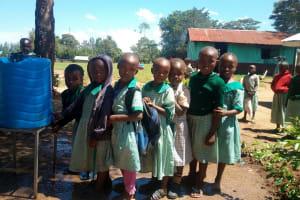 The Water Project: Eshisuru Primary School -  Handwashing Station