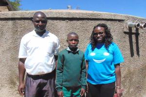 The Water Project: Eshisuru Primary School -  Martin Chatimba And Derrik Ngala