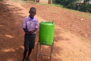 The Water Project: Lwangele Primary School -  Lee Leingwa