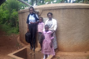The Water Project: Lwangele Primary School -  Reliable Water