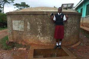 The Water Project: Bishop Sulumeti Girls Secondary School -  Lorine Muguni