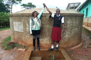 The Water Project: Bishop Sulumeti Girls Secondary School -  Reliable Water