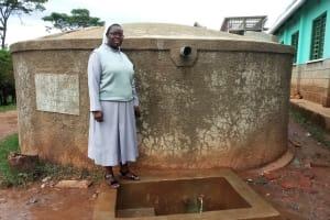 The Water Project: Bishop Sulumeti Girls Secondary School -  Sister Jane Amukoye