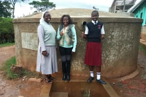 The Water Project: Bishop Sulumeti Girls Secondary School -  Thumbs Up For Water