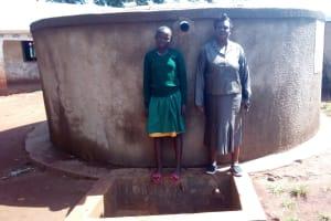 The Water Project: Ebukanga Primary School -  Emmy Sayo Orengo And Magret Afywande