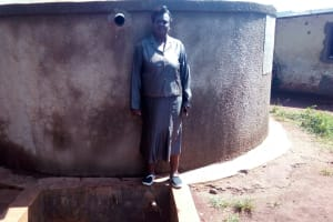 The Water Project: Ebukanga Primary School -  Headteacher Emmy Sayo Orengo