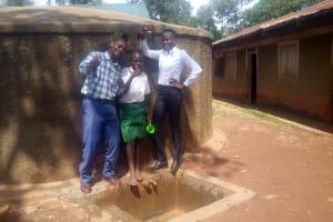 The Water Project: Emurembe Primary School -  Nicholas Emonyi And Eunice Nyabera