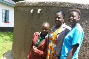 The Water Project: St. Kizito Lusumu Secondary School -  Smiles For Reliable Water