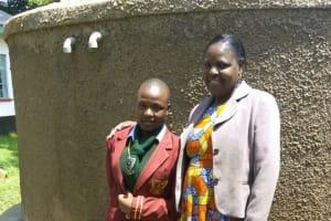 The Water Project: St. Kizito Lusumu Secondary School -  Tracy Makokha And Sarah Luvonga