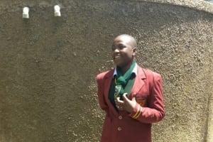 The Water Project: St. Kizito Lusumu Secondary School -  Tracy Makokha
