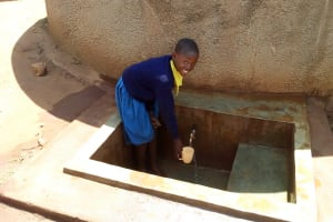 The Water Project: Essunza Primary School -  Fetching Water