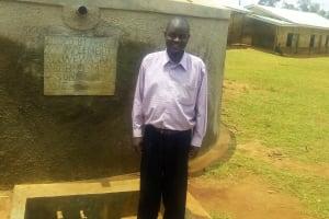 The Water Project: Essunza Primary School -  Deputy Headmaster Declan Onyino
