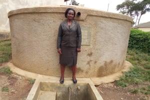 The Water Project: Musunji Primary School -  Margaret Aduvukha