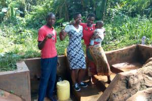 The Water Project: Munzakula Community, Musonye Spring -  Alex Musonye And Chebet Cheruto