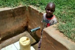 The Water Project: Shikhuyu Community -  Dickson Aswani