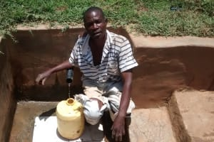 The Water Project: Shikhuyu Community -  John Memba