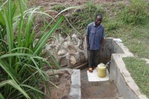 The Water Project: Lutari Community -  Protus Mukoye