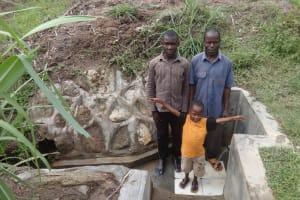 The Water Project: Lutari Community -  Robin Obanda And Protus Mukoye