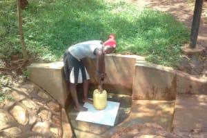 The Water Project: Wanzuma Community, Wanzuma Spring -  Faith Emere