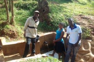 The Water Project: Igogwa Community -  Bernard Elegwa And Phoebe Mbone