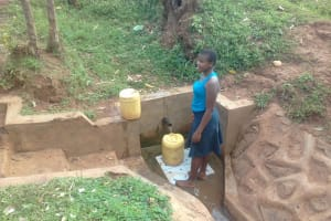 The Water Project: Igogwa Community -  Phoebe Mbone
