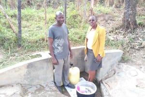 The Water Project: Bukhakunga Community, Indiatsi Omukitsa Spring -  John Asaba Musera