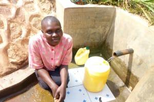 The Water Project: Tsivaka Community, Wefwafwa Spring -  Leah Joshua