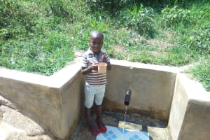 The Water Project: Ebung'ayo Community, Wycliffe Spring -  Mary Nekesa