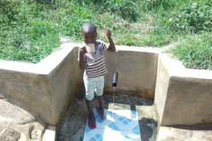 The Water Project: Ebung'ayo Community, Wycliffe Spring -  Reliable Water