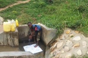 The Water Project: Shitungu Community B, Charles Amala Spring -  Eugine Amala