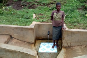 The Water Project: Mumuli Community, Shalolwa Spring -  Violet Musanga