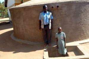The Water Project: Eshilakwe Primary School -  Josphat Kihima And Aluine Omungala