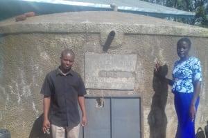 The Water Project: Friends Emanda Secondary School -  Teachers In Charge Of Sanitation At Emanda School