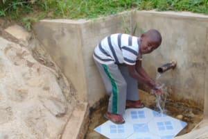 The Water Project: Bushevo Community, David Enani Spring -  James Enani