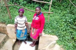 The Water Project: Hondolo Community, Musila Spring -  Alaxine Namusasi