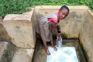 The Water Project: Hondolo Community, Musila Spring -  Mercy Diodio