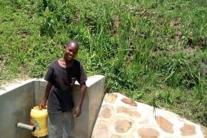 The Water Project: Shivagala Community, Paul Chengoli Spring -  Doreen Makokha
